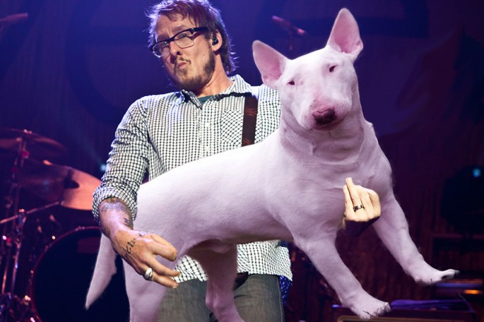 Bass Players Carrying Dogs - 06