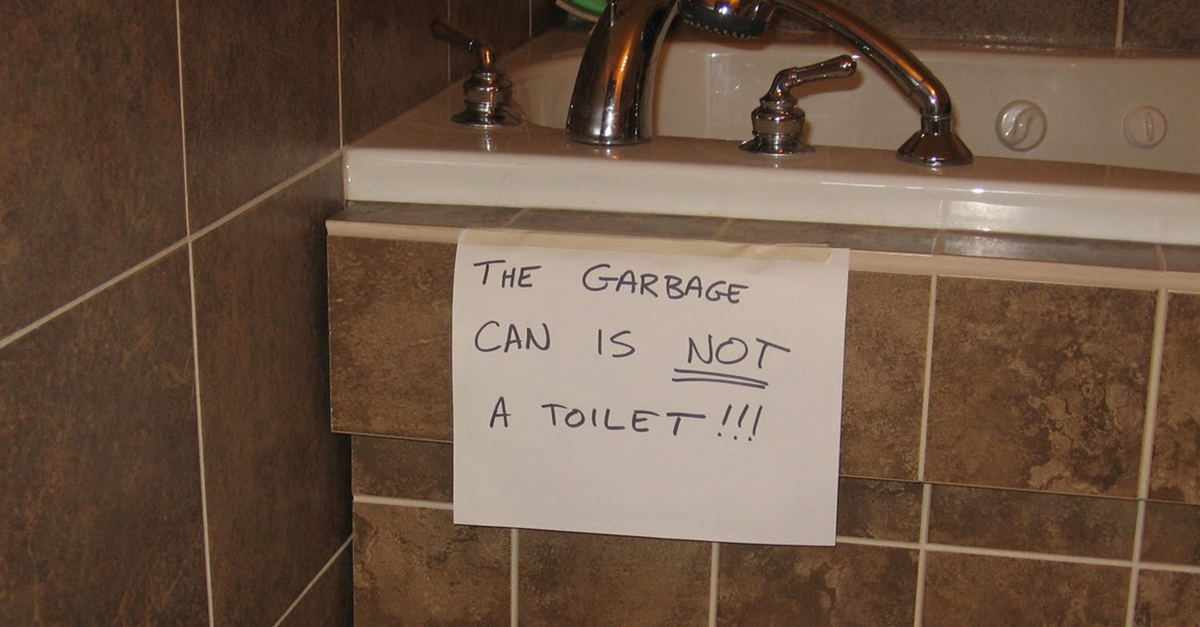 Hysterical Public Restroom Signs Youve Got To See Words - Public bathroom signs
