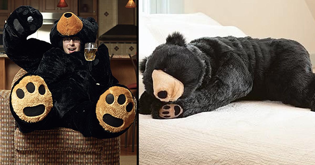 Giant Teddy Bear Sleeping Bags Now Exist 22 Words