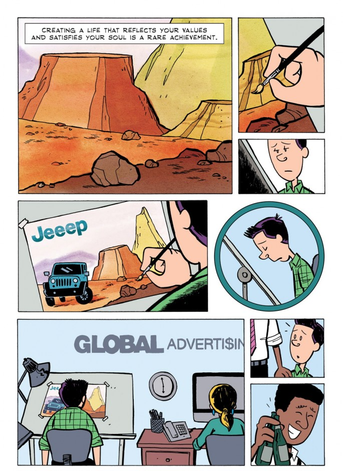Bill Watterson quote from Zen Pencils - 01