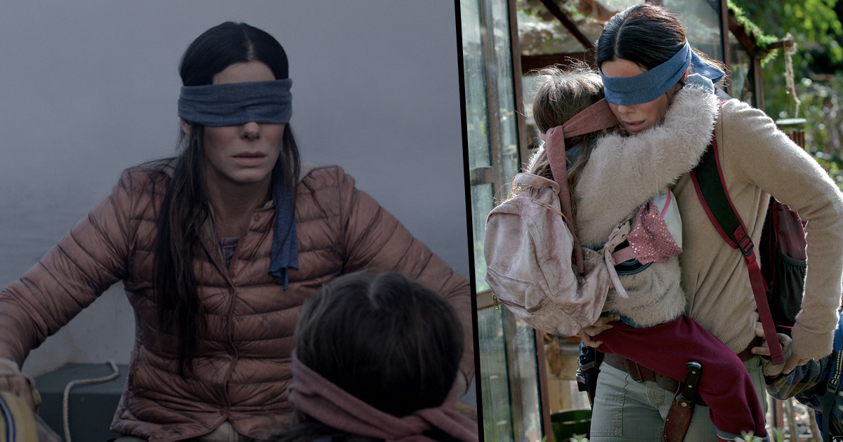 Bird Box Fans Think They Ve Spotted The Monster Twice In The Film