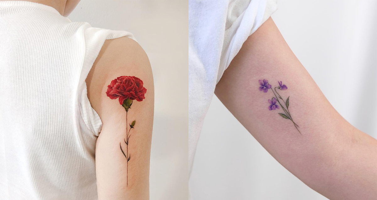 Birth Flower Tattoos Are The New Classier Zodiac Sign