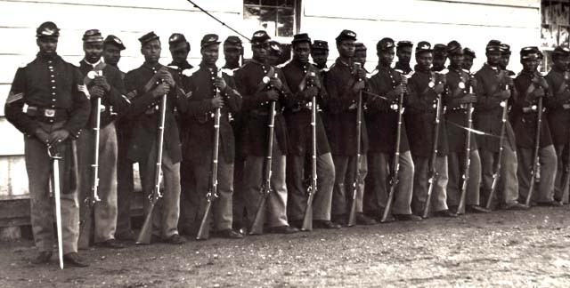 the black union army