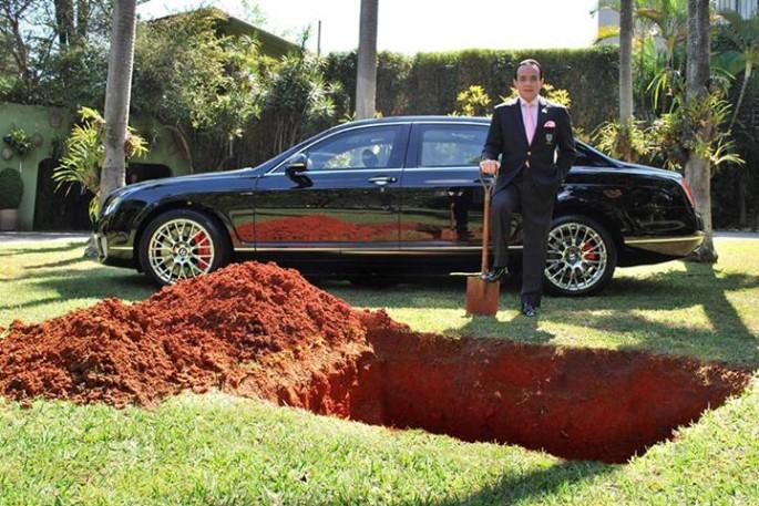 Burying a Bentley - 02