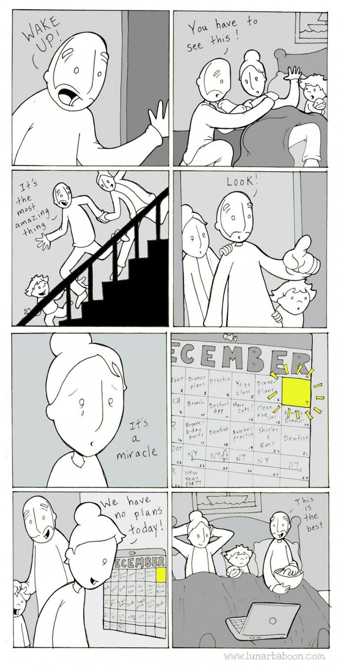 Christmas-season Miracle - Lunarbaboon