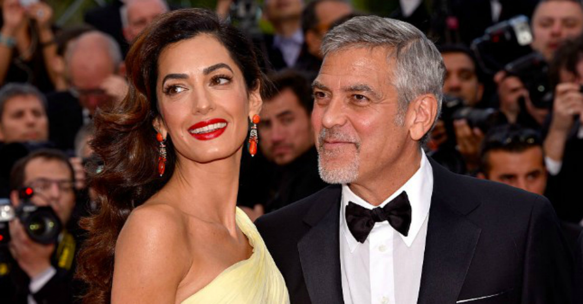 George Clooney Revealed He and Amal Have a Stranger Living in Their Home