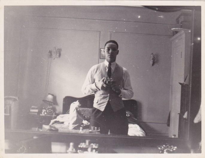Colin Powell's Vintage Selfie