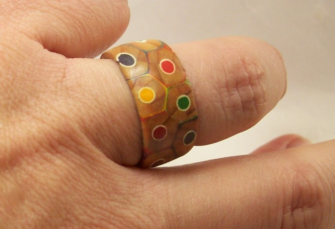 Colored Pencil Ring - 13