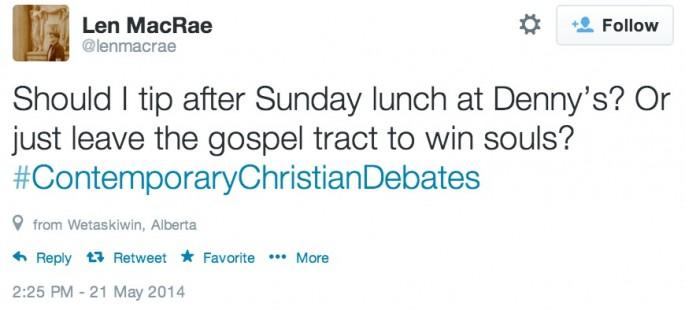 Contemporary Christian Debates 11