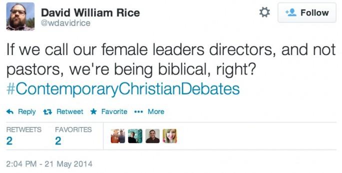 Contemporary Christian Debates 26