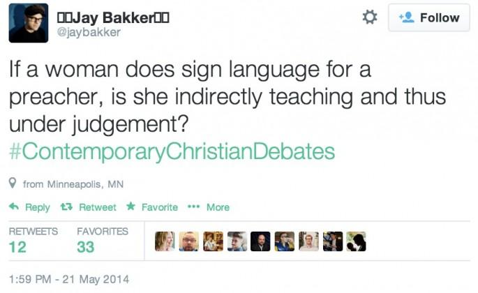 Contemporary Christian Debates 27