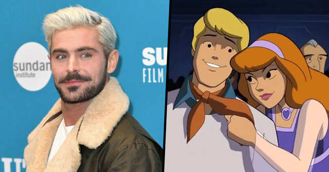 Image result for New 'Scooby-Doo' Brings Together Zac Efron as Fred & Amanda Seyfried as Daphne