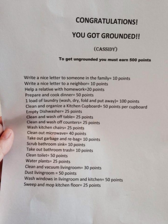 Creative Way to Ground Kids