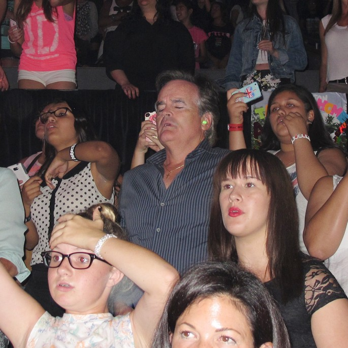 Dads at a One Direction Concert - 01