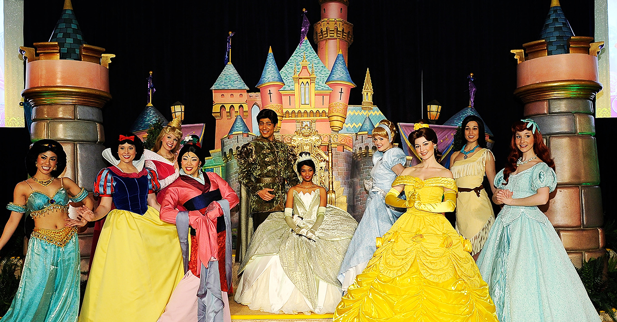 Do You Have What It Takes to Be a Princess at Disneyland ...