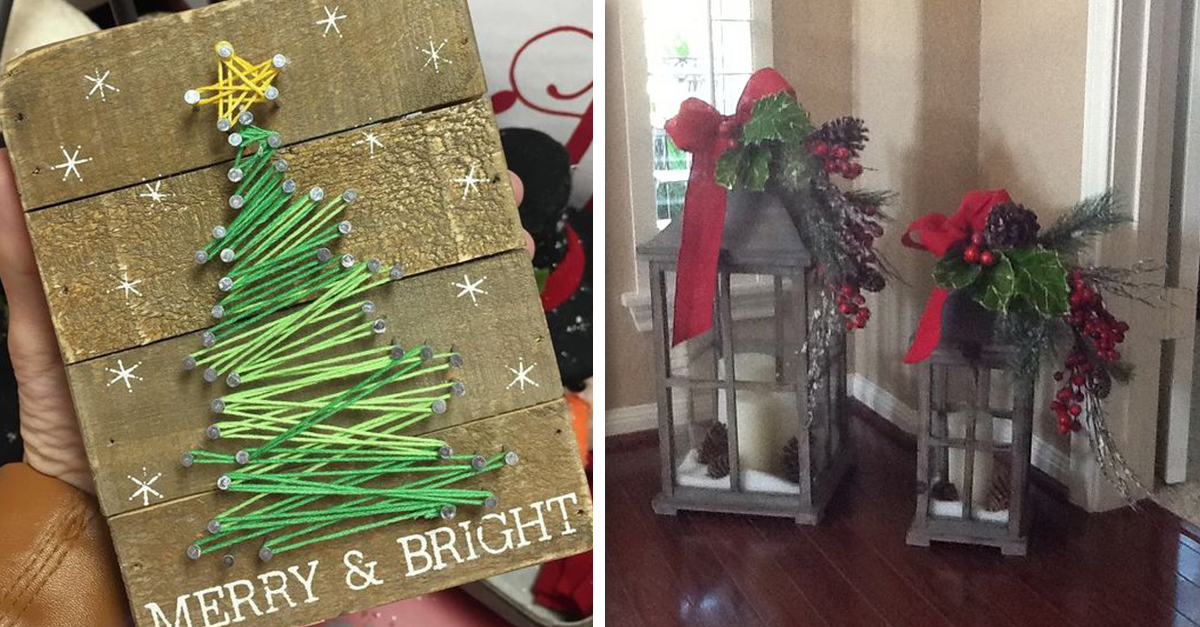 Easy DIY Holiday Decor Projects To Try | 22 Words