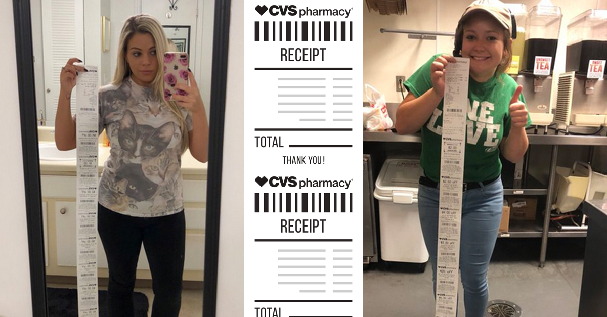 ever wondered why cvs receipts are so insanely long