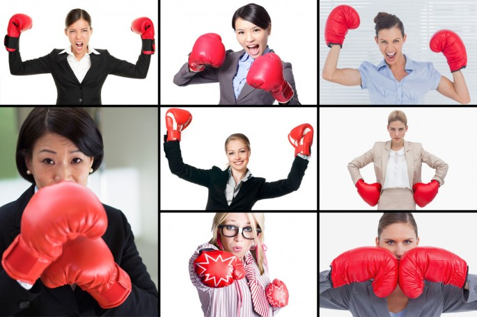 Feminism in Stock Photography - 01