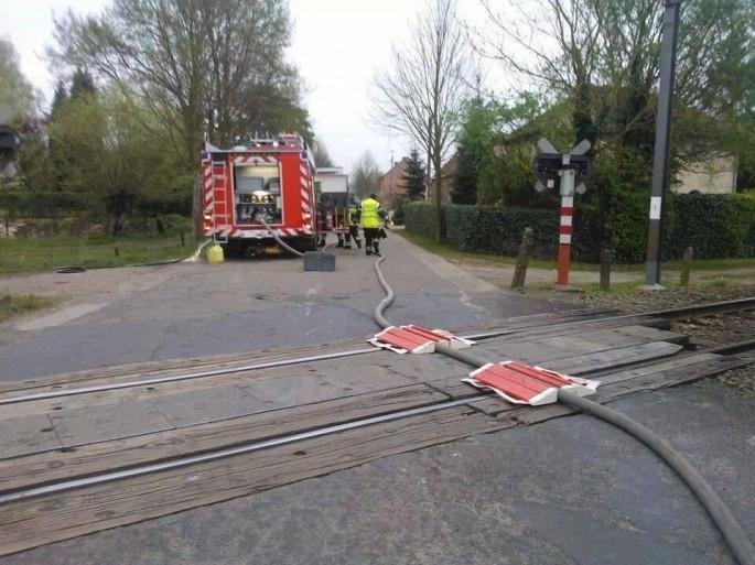 Firehose and Train Tracks