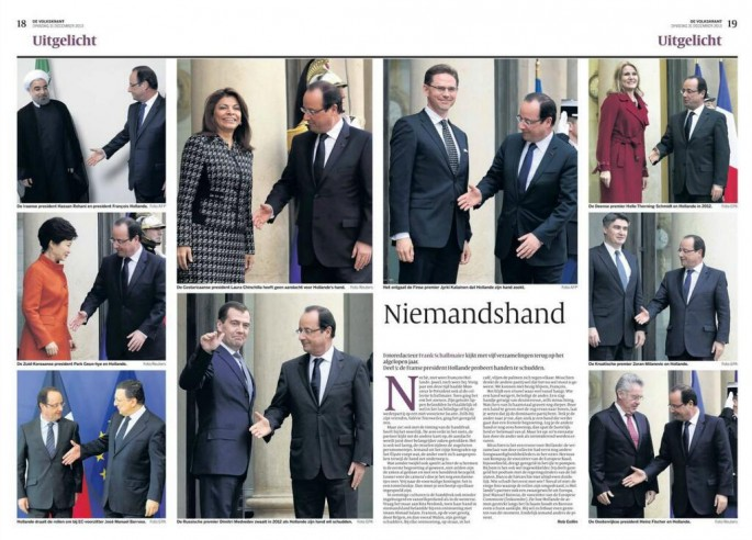 French President is Bad at Handshakes - 12