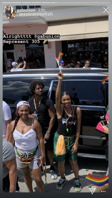 Dwyane Wade & Gabrielle Union Cheer on Son at Pride Parade | 22 Words