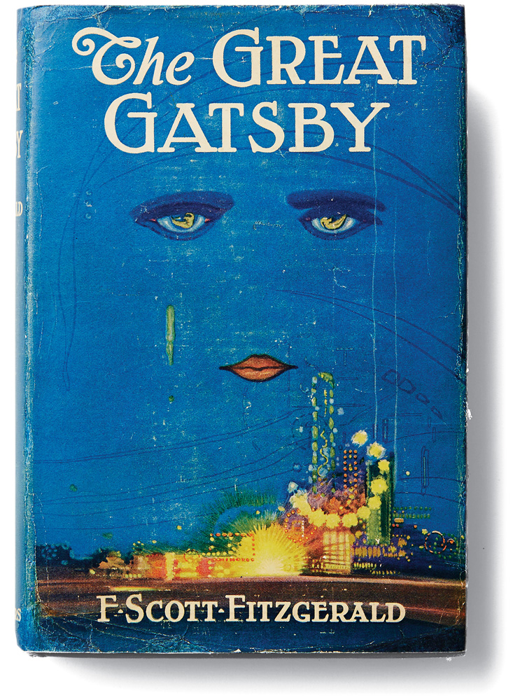 Book Cover Photography Quiz : This history of the cover art for quot great gatsby