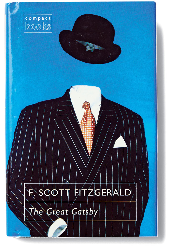 Great Book Cover Art : This history of the cover art for quot great gatsby