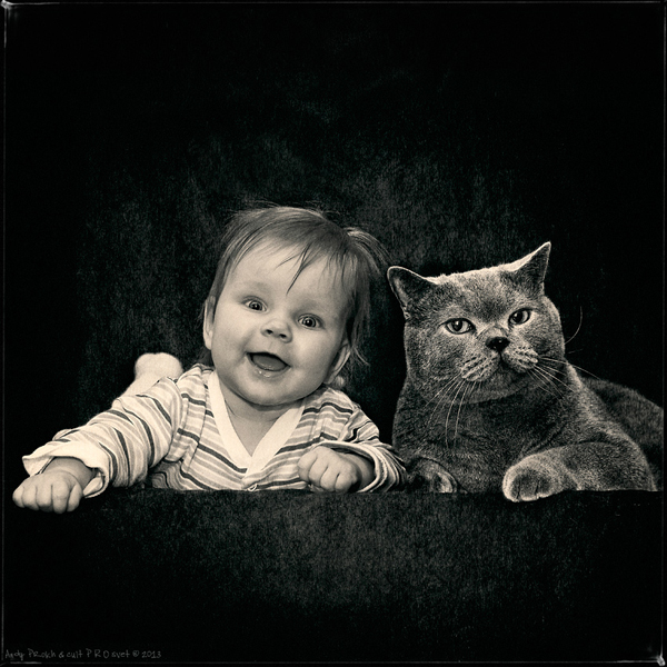 Girl and Her Cat - 19