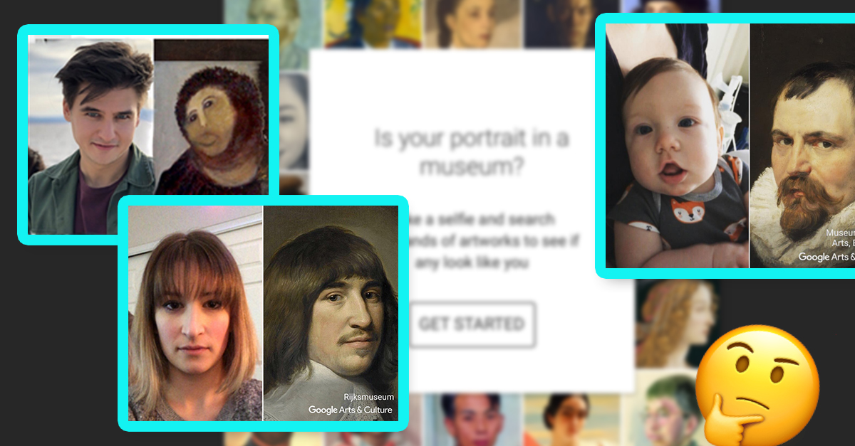 15 of the Most Hilarious 'Google Arts and Culture' Face Matches on the Internet
