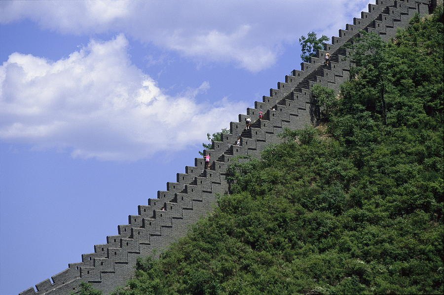 The Marathon Along The Great Wall Of China Includes More Than - Great wall marathon