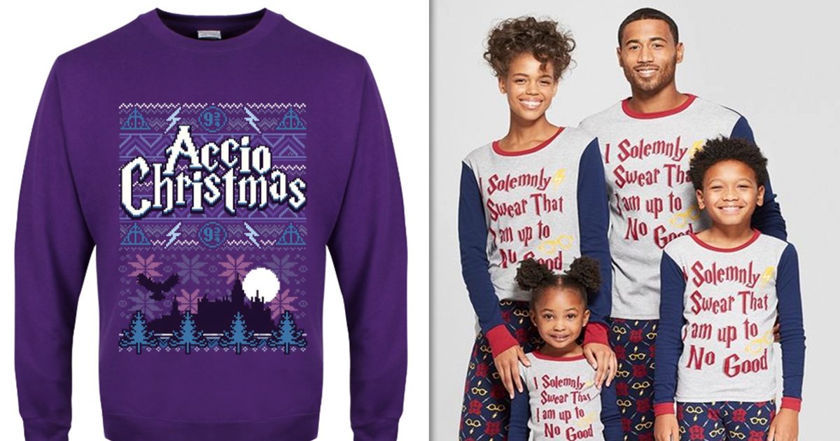 e0ae71635 Harry Potter Christmas Sweaters Are What Every Muggle Needs This Christmas