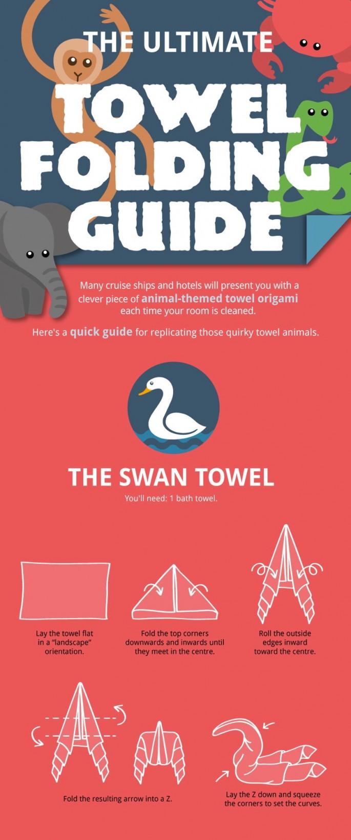 Make laundry day a bit more interesting how to fold towel how to fold towel animals 01 jeuxipadfo Choice Image