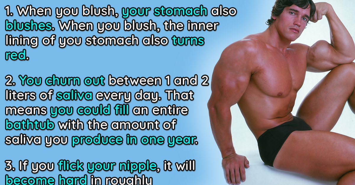 15 Bizarre And Gross Facts About The Human Body 22words