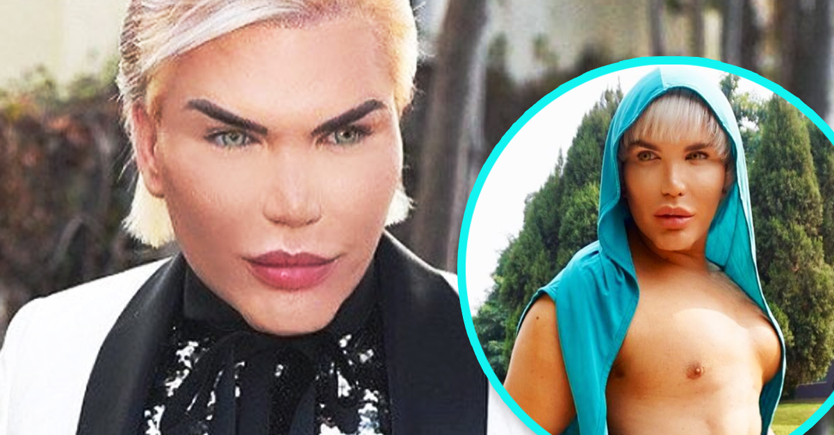 Human Ken Doll Had 4 Of His Ribs Surgically Removed So He Could Fit