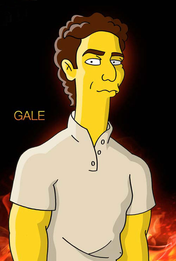 Hunger Games : Simpsons mashup - Gale