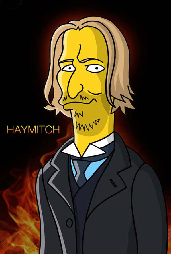 Hunger Games : Simpsons mashup - Haymitch