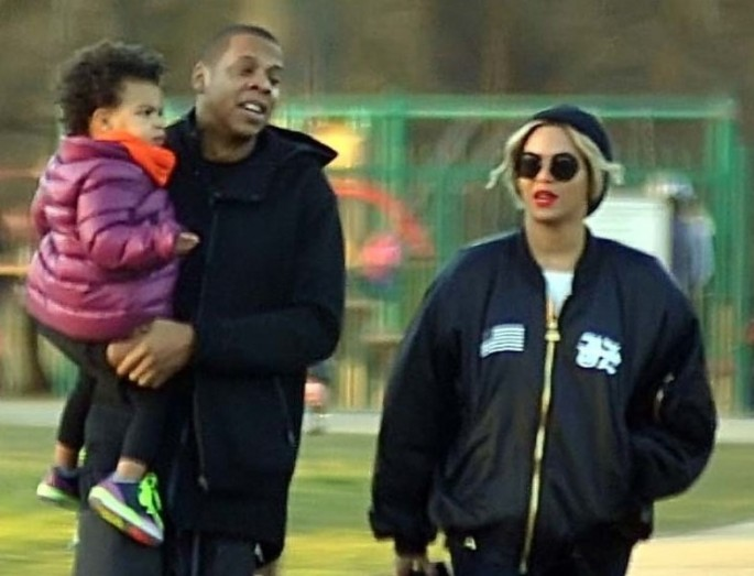 Beyonce and husband Jay Z, carrying daughter Blue Ivy, enjoy family time at the Phoenix Park Visitors Centre's playground in Dublin Featuring: Beyonce,Jay Z,Blue Ivy Carter Where: Dublin, Ireland When: 10 Mar 2014 Credit: WENN.com ****Not available for publication in Irish Tabloids, Irish magazines and Irish Websites****