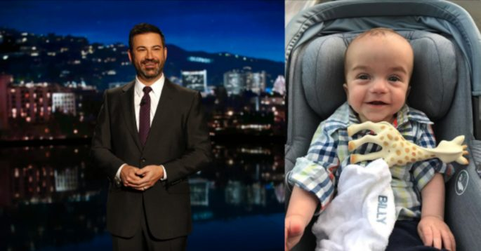 Jimmy Kimmel Makes An Emotional Return To Tv With Baby Son