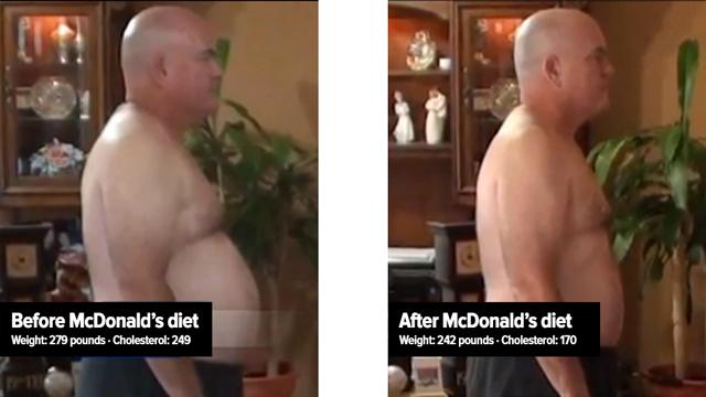 John Cisna's McDonald's Diet