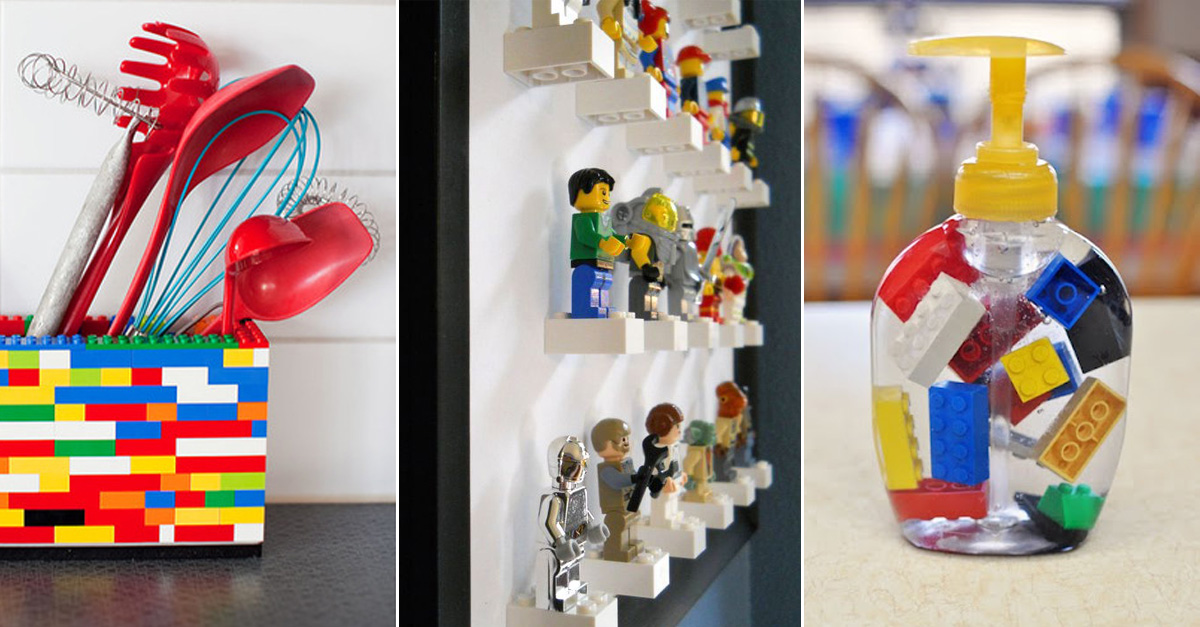 Creative And Practical Ways To Use Lego Around The House Without Stepping On Any 22 Words