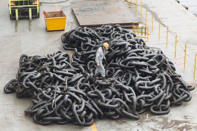 Largest Ships Anchor Chain