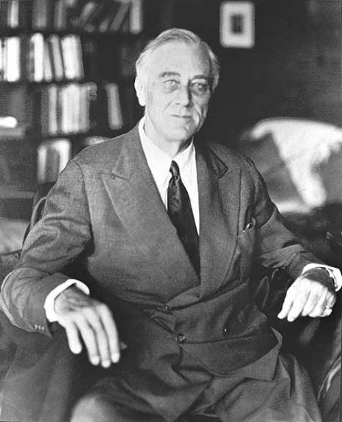 Last Known Photos of Famous People - Franklin D Roosevelt