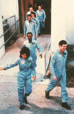Last known photos - Challenger Crew