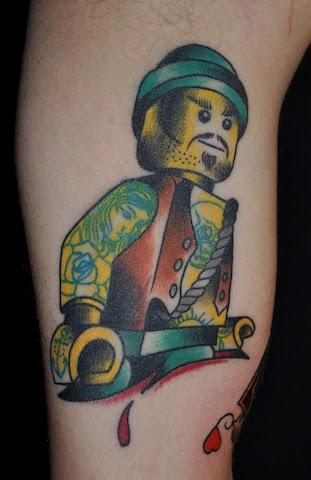 Lego tattoos - 02