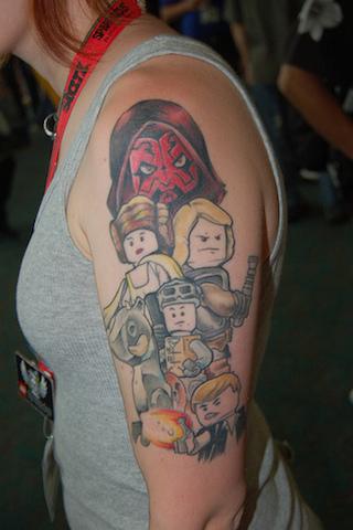 Lego tattoos - 04