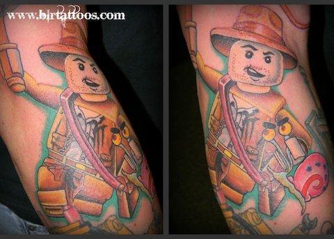 Lego tattoos - 07