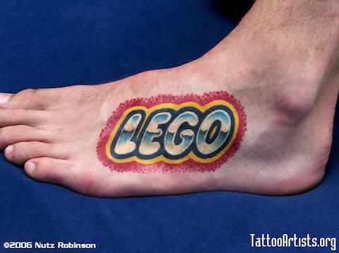 Lego tattoos - 11