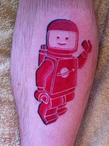 Lego tattoos - 13