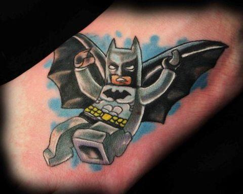 Lego tattoos - 14