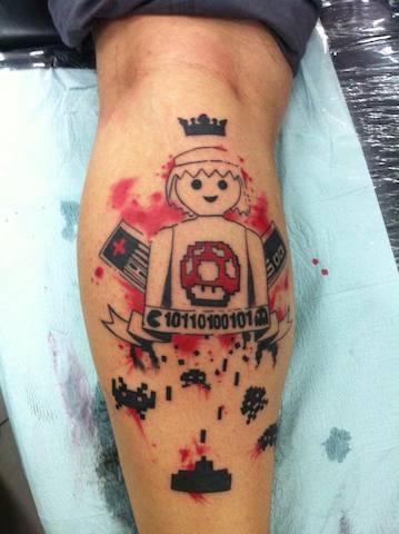 Lego tattoos - 15